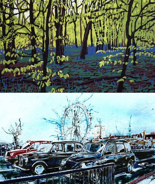 ©2014 - Cathy Read an Alexandra Buckle - Taxis and bluebells