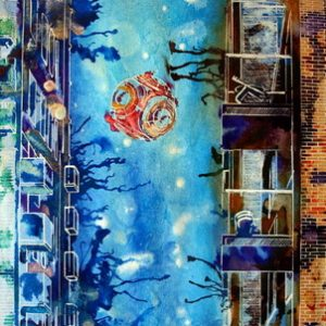 2011-Cathy-Read-Art-Well-I-didnt-expect-that-38x28cm-Mixed-media