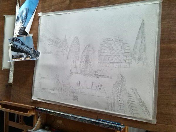 ©2013 - Cathy Read - Work in Progress- Pencil - 55x75cm