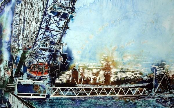 ©2014-Cathy-Read-Misty-Wheel-Watercolour-and-Acrylic-55-x-75-cm