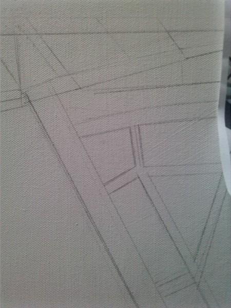 ©2014 - Cathy Read - Work in Progress detail- Pencil 81.5 x101.5 cm