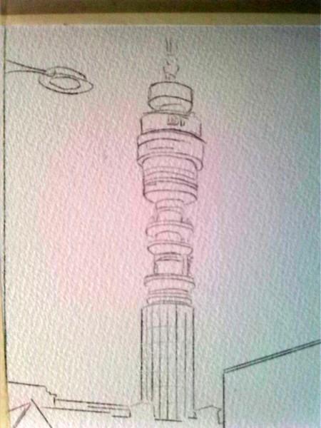 ©2015 - Cathy Read - Work in Progress - Pencil -38x28cm