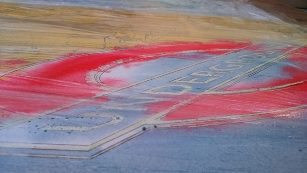 ©2016 - Cathy Read - Big Ben (Working title) Work in progress Watercolour - 75 x 55 cm