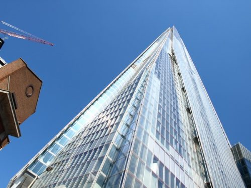Photograph of The Shard #London ©2012-Cathy-Read-The-Shard-up-close-Digital-Image