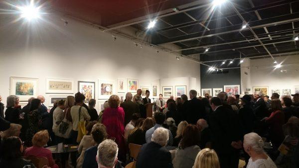 ©2017-Cathy-Read - RI Speeches Rosa Sepple and Norman Ackroyd