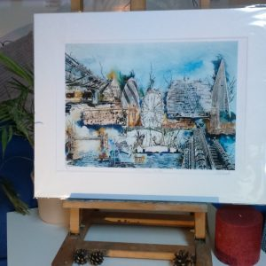 Packaged print of Sketching London by Cathy Read