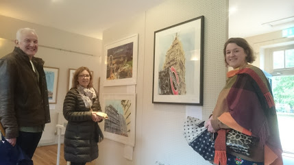 Supporting Artists To Create Art When Exhibition visitors coordinate with the exhibits, take 3 - ©2018 - Cathy Read - Digital image