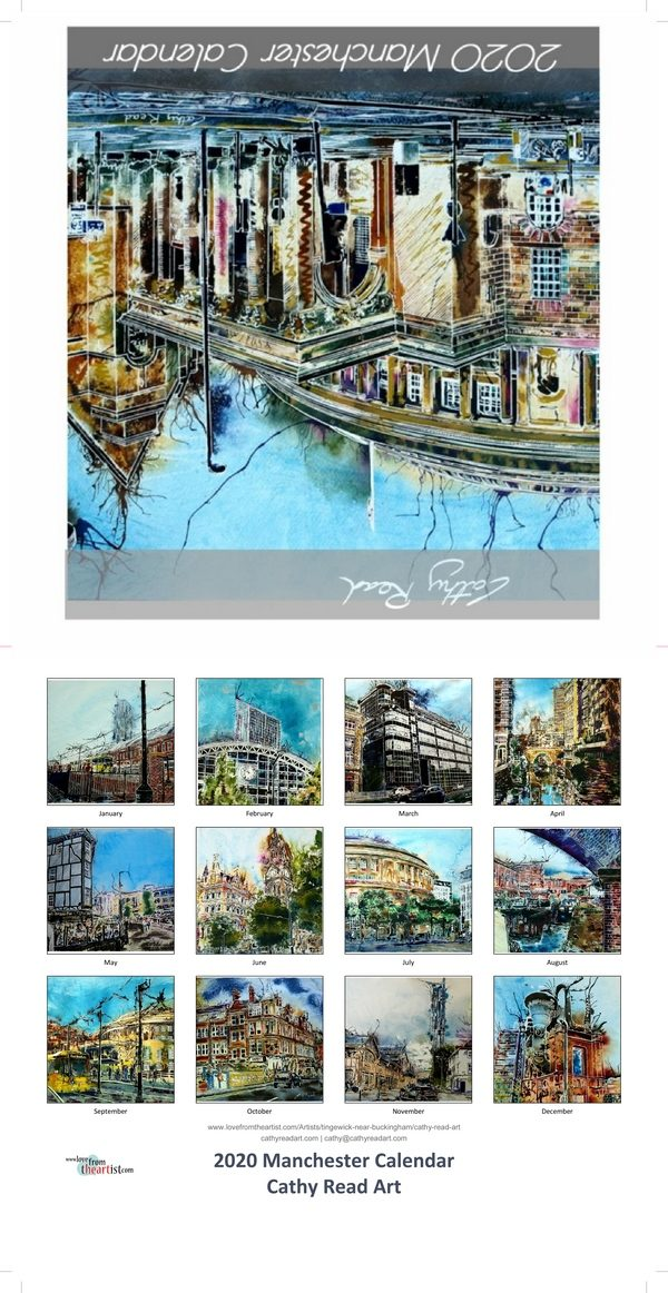 Paintings by Cathy Read Manchester Calendar