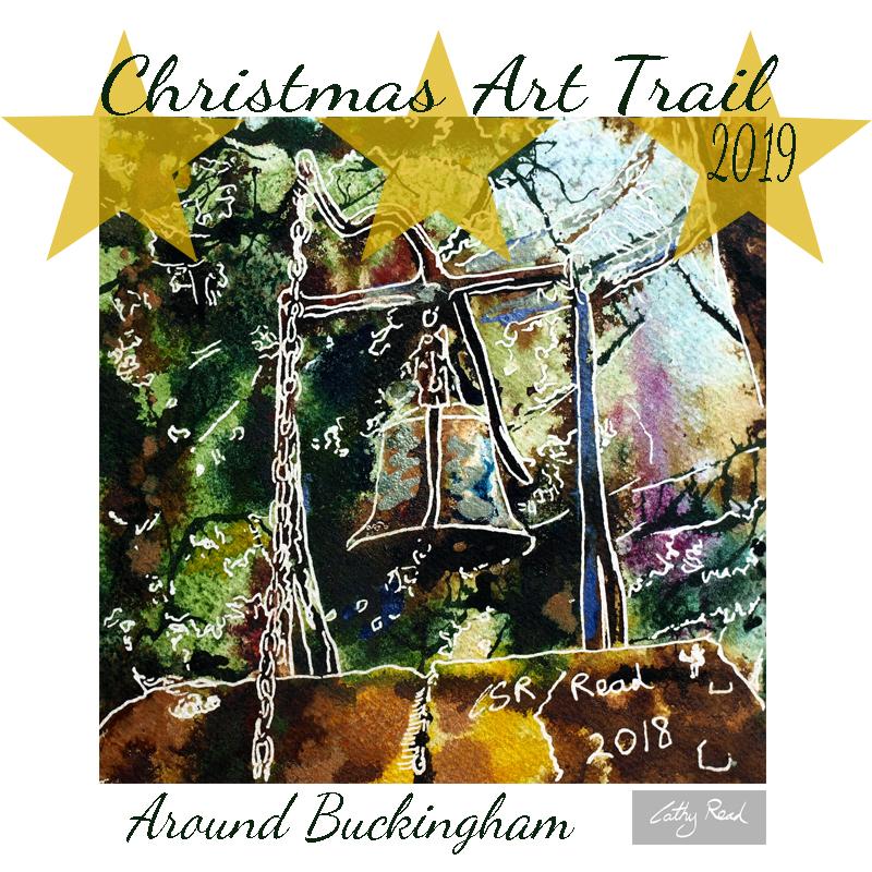 Christmas art trail around Buckingham
