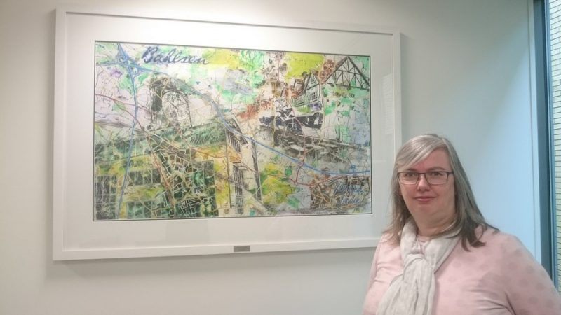 ©2018 - Cathy Read - Chalfont Bahlsen - Watercolour and Acrylic - installation picture