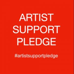 Artist Support Pledge Paintings
