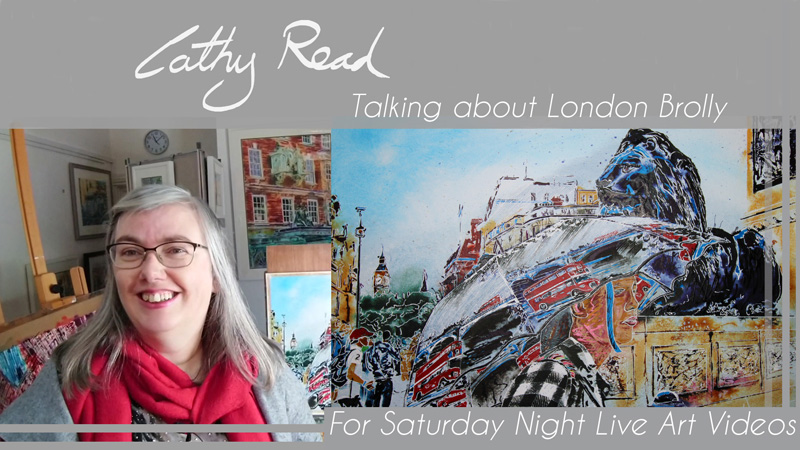 Contemporary Artist Talk London Brolly talk by Cathy ReadVideo Title