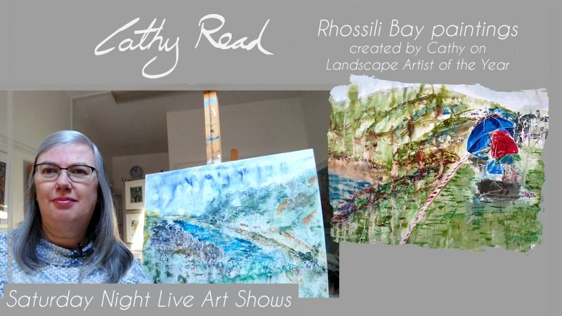 Rhossili Bay Paintings video title