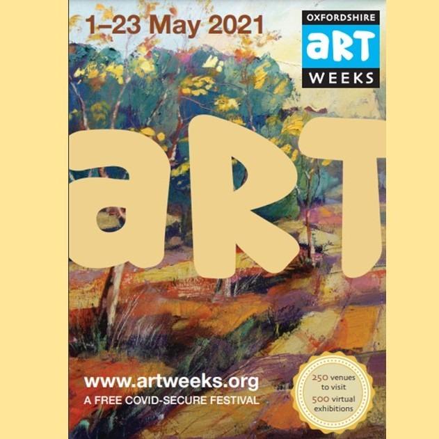 2021 Artweeks Catalogue cover