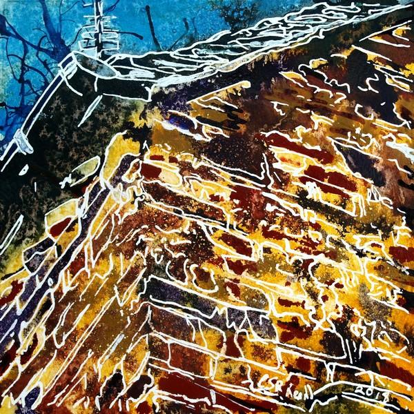 11 Brick Wall - Cathy-Read - ©2018