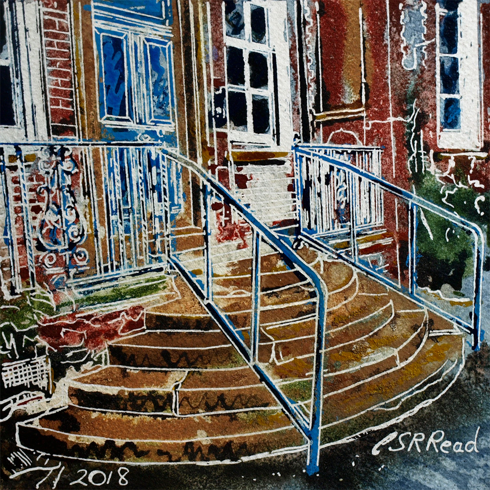 29 Hospital Steps - Cathy Read  - ©2018