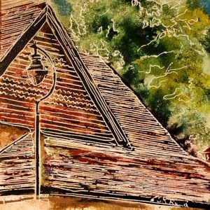 43 - Tiled Roof - Cathy Read - ©2018