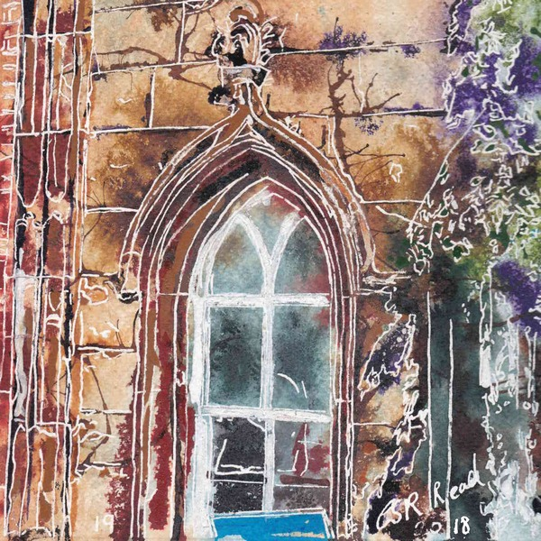 19 Arch Window  - Cathy-Read - ©2018 -SOLD