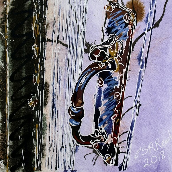 8 Cottage Latch ©2018 - Cathy Read- SOLD
