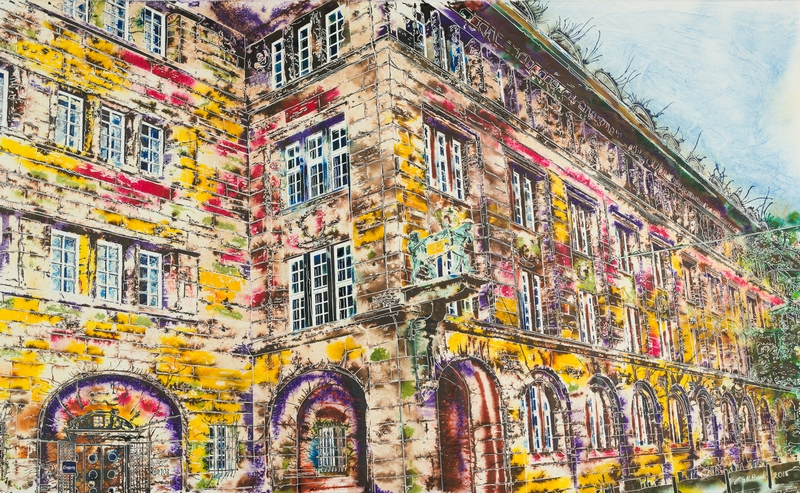 BAHLSEN HEADQUARTERS Stammhaus, Hanover Germany by Cathy Read ©2018
