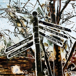 50  Signpost - Cathy Read  - ©2018 -SOLD