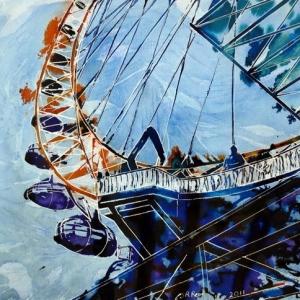 Millenium Vision-©2011- Cathy Read-40 x 50cm - Mixed Media