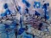 Fixed Flight - ©2011 - Cathy Read - 40x50cm- Mixed media