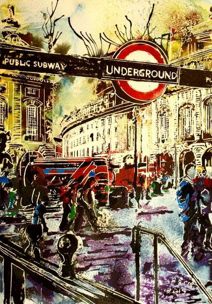 Underground - ©2015 - Cathy Read - ©2015 - Cathy Read - £190