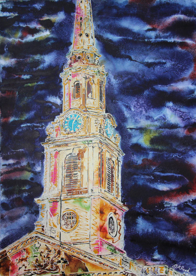 ©2020-Cathy-Read-St-Martins-Watercolour-and-Acrylic-on-paper-on-board-76-x-56-cm-800w