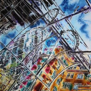 Lloyds Fill in the Blanks - ©2020 - Cathy Read - 40 x 50 cm